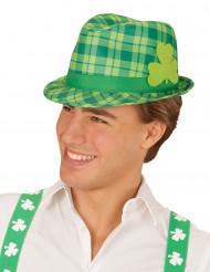 Groene St Patrick's hoed voor volwassenen