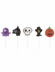 Set van Halloween kaarsjes