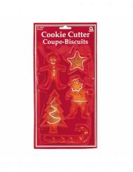 5 kerst koekjesvormen