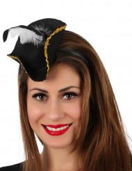 Mini piratenhoed haarband