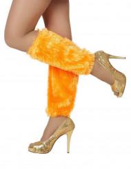 Oranje beenwarmers