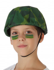 Militairen soldaat helm voor kinderen