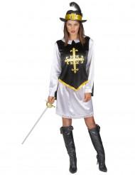 Historische musketier outfit voor vrouwen
