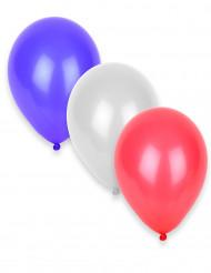 Set rood, wit, blauw ballonnen