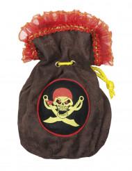 Piraten tasje 24 cm