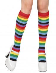 Regenboog kousen voor vrouwen
