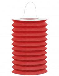 Rode papieren lantaarn