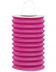 Roze papieren lantaarn