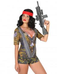 Soldaten fopshirt voor vrouwen