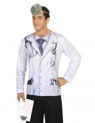Dokter fop-shirt voor volwassenen