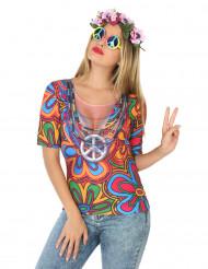 Hippie fopshirt voor vrouwen