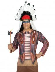 Indianen fopshirt voor volwassenen