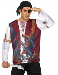 Piraten fopshirt voor heren