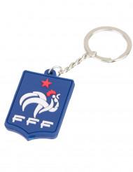Blauwe Frankrijk FFF™ siliconen sleutelhanger