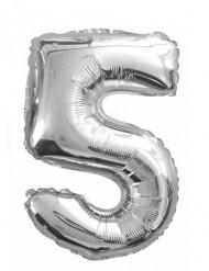 Aluminium ballon 5 jaar