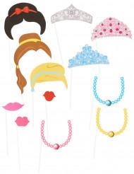 Prinsessen photobooth set