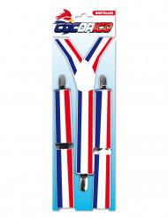 Rood, wit, blauw bretels voor volwassenen