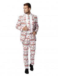 Mr. Kerstgangster kostuum voor mannen - Opposuits™