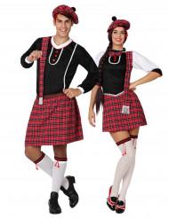 Schotse koppel kostuum voor volwassenen