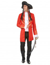 Rood piraten kostuum voor mannen