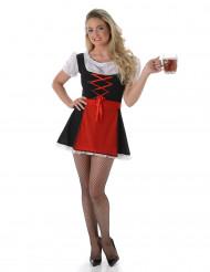 Sexy Beierse dirndl jurk voor dames