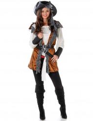 Traditioneel piraten kostuum voor vrouwen