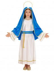 Kleine Maria kostuum voor meisjes Kerstmis
