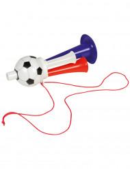Frankrijk supporter voetbal trompet