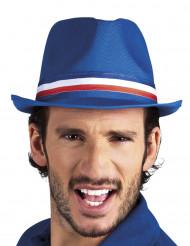Blauwe Frankrijk supportershoed voor volwassenen