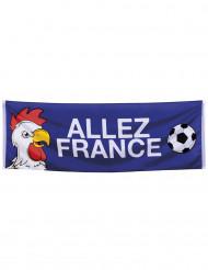 Franse supporter banier 74 x 220 cm