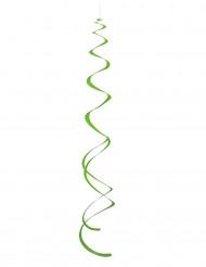 8 groene spiralen ophangingen