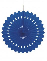 Donkerblauwe rozet 40 cm