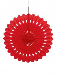 Rode rozet hangend 40 cm