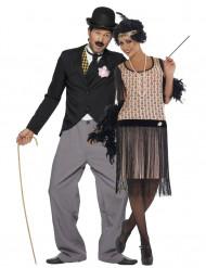 Charleston jaren 20 koppel kostuums voor volwassenen