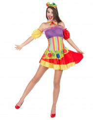 Clownskostuum voor vrouwen