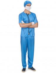 Chirurg kostuum voor heren