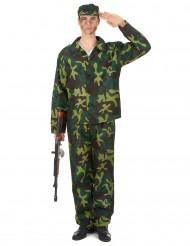 Soldaten kostuum voor heren