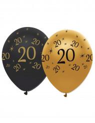 Verjaardagsballonnen 20 jaar