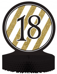 Verjaardag tafelversiering 18 jaar