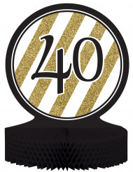 40 jaar tafeldecoratie