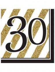 16 servetten 30 jaar