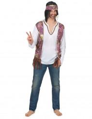 Klassiek hippie vestje voor heren
