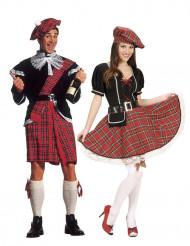 Schots koppelkostuum voor volwassenen