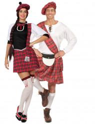 Korte Schotse koppelkostuums voor volwassenen