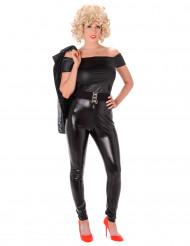 Zwart jaren '50 kostuum voor dames