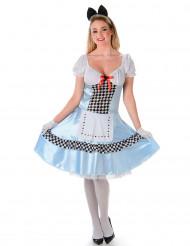 Alice prinseskostuum voor vrouwen