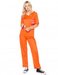 Gevangene kostuum voor volwassenen