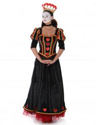 Hartenkoningin kostuum voor dames