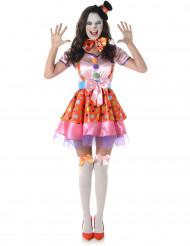 Clown kostuum voor vrouwen