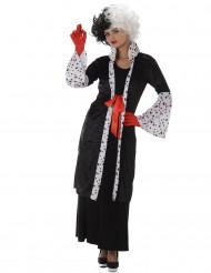 Cruella boze vrouw kostuum